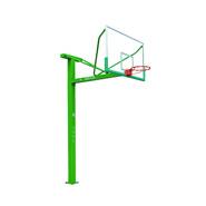 佳美1007地埋式篮球架配钢化玻璃