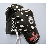 五龙新品豹纹拳击手套